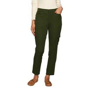 $10 SALE Isaac Mizrahi Live 24/7 Cargo Ankle Pant